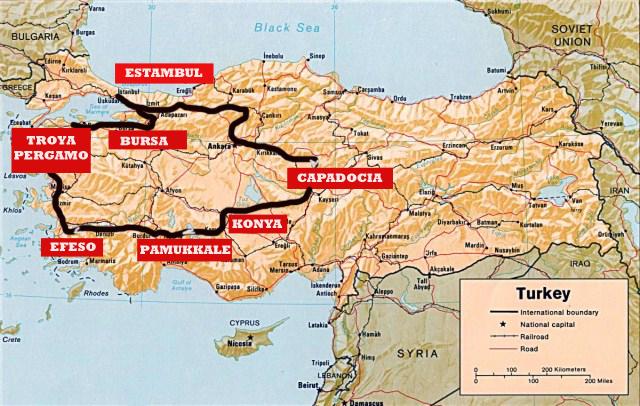 Turquia for Oficina turismo turquia