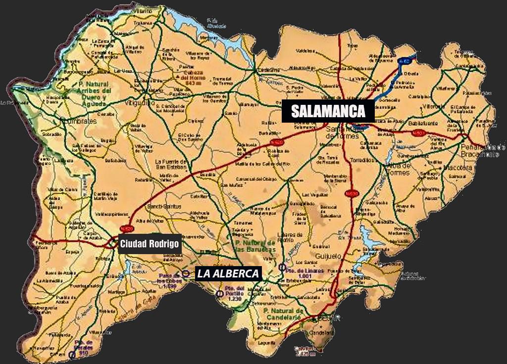 La Provincia De Salamanca